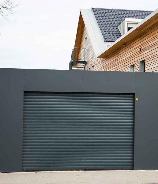 puertas de garaje metalicas